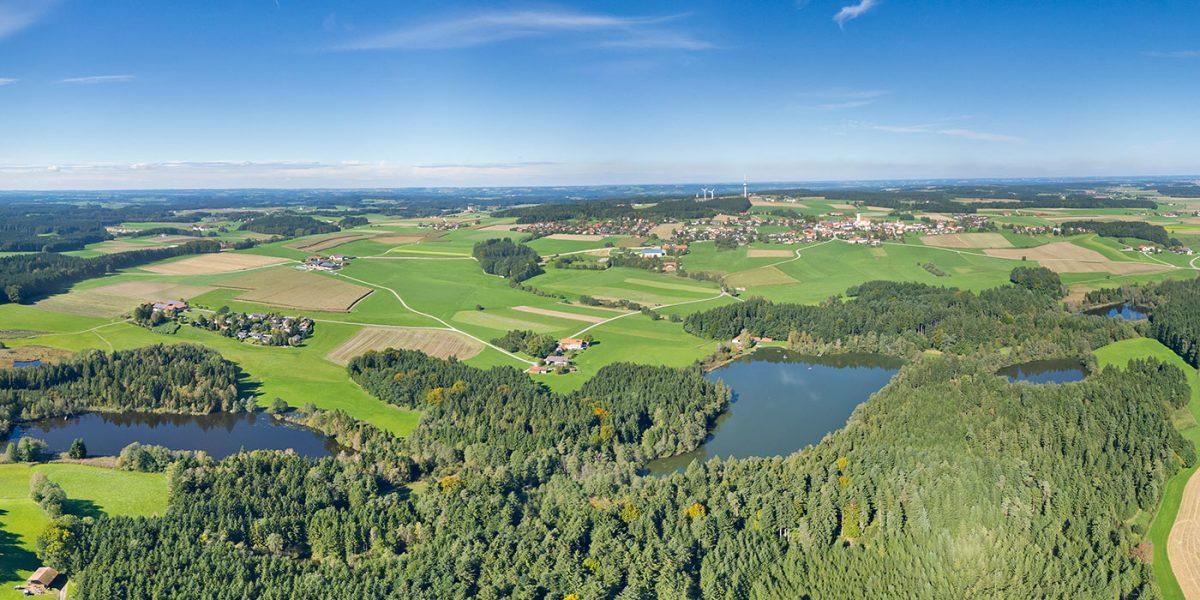 Schnaitsee Panorama